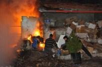 ORHAN ÖZER - Yozgat'ta Yanan Hurda Dolu Ev Güçlükle Söndürüldü