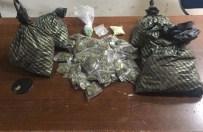 Yunus Polisleri 163 Paket Uyuşturucu Madde Ele Geçirdi
