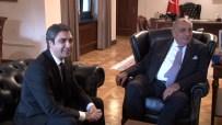 KURTLAR VADISI - Başbakan Yardımcısı Türkeş 'Polat Alemdar'la Görüştü