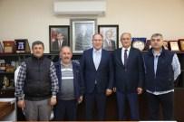 HASAN ALIŞAN - SESOB Başkanı Alişan'dan, Başkan Aydın'a Ziyaret