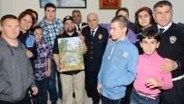 EBRU SANATı - Karakolda Özel Çocuklara Eğitim