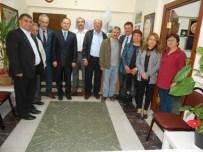 UĞUR YÜCEL - MHP İl Teşkilatından Gümüşhaneliler Derneği'ne Ziyaret