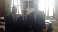 SAĞLıK VE SOSYAL HIZMET ÇALıŞANLARı SENDIKASı - Zonguldak Sağlık-Sen'den AK Parti Grup Başkan Vekili Bülent Turan'a Ziyaret