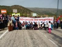 İBECIK - Tokat-Amasya Yolunu Kapatıp Hes'i Protesto Ettiler