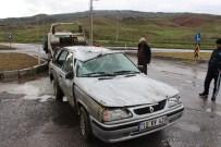 Çankırı'da Trafik Kazası Açıklaması 2 Yaralı