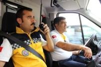 TEPE LAMBASI - Gaziantep'te 112 Ambulanslarına Fermuar Tatbikatı