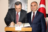 KOMPOZISYON - Azerbaycan Ankara Büyükelçisi Faik Bagirov, Kastamonu'ya Geldi