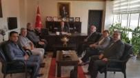 Burhaniye'de Kent Konseyinden Kaymakam Ziyareti