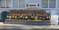 VOTKA - Mersin'de Sahte İçki Operasyonu