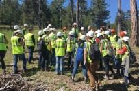 Orman Fakültesi Öğrencilerinden Teknik Eğitim Gezisi
