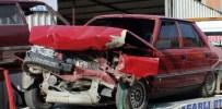 BALıKÖY - Tavşanlı'da Otomobiller Çarpıştı Açıklaması 3 Yaralı