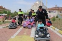 TRAFİK EĞİTİMİ - Elazığ'da Anaokulu Öğrencilerine Uygulamalı Trafik Eğitimi Verildi