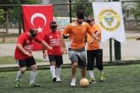 ENGELLİ SPORCU - Görme Engelliler Engin İpekoğlu'na 2 Gol Attı