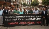ÖZEL İSTİHDAM BÜROLARI - Soma Faciası, Yıldönümünde Protesto Edildi