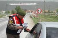 MUTTALIP - Tepebaşı Trafik Jandarmadan Sürücülere Uyarı