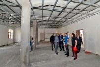 TUNCELİ VALİSİ - Vali Osman Kaymak Dersim Kent Müzesi İnşaatını İnceledi
