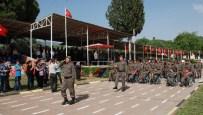 ASKERİ KIYAFET - Aydın'da 42 Engelli Çakı Gibi Asker Oldu