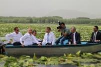 GÜMÜŞSU - Belediye Başkanlarının Işıklı Gölü Keyfi