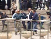 LEVENT GÖK - CHP'li Levent Gök şehit cenazesinde protesto edildi