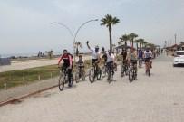 Dörtyol'da Bisiklet Turu Etkinliği