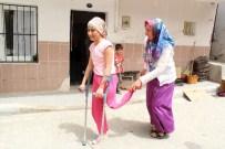 PROTEZ BACAK - Bacağı Kesilen Tuğba'dan Yardım Çığlığı