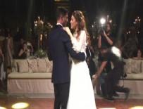 SEÇKİN ÖZDEMİR - Ünlü oyuncular Ezgi Eyüboğlu ve Kaan Yıldırım evlendi