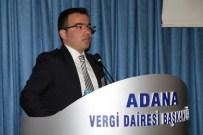 KALP SAĞLIĞI - Adana Vergi Dairesi Çalışanlarına 'Kalp Sağlığı' Semineri