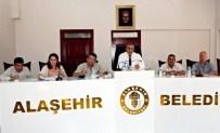 ULUDERBENT - Alaşehir Belediyesi'nden Yoğun İhale Mesaisi