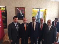 İSMAIL ALTıNDAĞ - Başkan Mehmet Kocadon Van'da