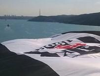 ÇARŞI GRUBU - Beşiktaş'ın bayrağı Yavuz Sultan Selim Köprüsü'nde dalgalanıyor