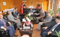 SÜLEYMAN KARA - Daire Müdürlerinden Bölge Müdürü Adnan Kayım'a 'Hayırlı Olsun' Ziyareti