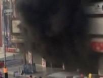 MAHSUR KALDI - Ümraniye'de korkutan yangın