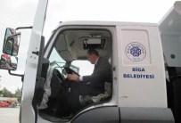 KARABIGA - Biga Belediyesine Yeni Araç Alımı Yapıldı