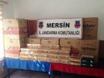 KARGıPıNARı - Mersin'de Gümrük Kaçağı Üç Bin Paket Sigara Ele Geçirildi