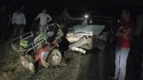GÖBEKLİTEPE - Şanlıurfa'da Trafik Kazası Açıklaması Aynı Aileden 7 Yaralı