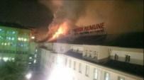 Ankara Numune'de Korkutan Yangın