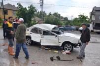 Konya'da Trafik Kazası Açıklaması 1 Ölü, 1 Yaralı