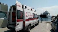 DENİZ ULAŞIMI - Sağlık Bakanlığı'ndan Denizde Nefes Kesen Tatbikat