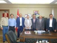 MEHMET BIRKAN - Başkan Metin Oral'dan Taşköprü Belediyesi'ne Ziyaret