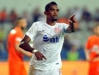 SAMUEL ETOO - Eto'o attı Antalyaspor puanları topladı