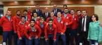 ZAFER ÖZ - Şampiyon Termalspor'dan Başkan Sekmen'e Ziyaret