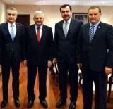 MEHMET ERDEM - AK Parti Aydın Vekilleri Binali Yıldırım'ı Kutladı