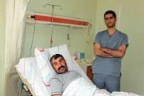 SERÇE PARMAĞI - Cizre'de İlk Kapalı Böbrek Taşı Ameliyatı Yapıldı