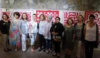 MUSTAFA NECATİ - Kan Çiçeklerine Borcumuz Var Sergisi Bozcaada'da Açıldı