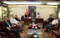 HABERTÜRK GAZETESI - Muhtarlardan Başkan Kılıç'a Tebrik Ziyareti