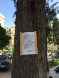 ÇıKMAZ SOKAK - Sanatçılar Parkı'ndaki Ağaçların Kesilmemesi İçin İmza Kampanyası
