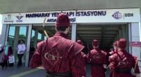 SÖĞÜTLÜÇEŞME - Toplu Taşımada Okçuları Gören Vatandaşlar Şaşkına Döndü