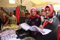 KADIN DESTEK MERKEZİ - Eyyübiye Belediyesi'nden El Sanatları Ve Giyim Sergisi