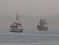 KARGO GEMİSİ - Rus Askeri Kargo Gemisi İstanbul Boğazı'ndan geçti