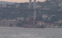 KARGO GEMİSİ - Türkiye'den Satın Aldıkları Gemiyle Boğaz'dan Geçtiler
